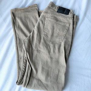 Bullhead Tan Khaki Denim Jeans 30 x 30 Slim